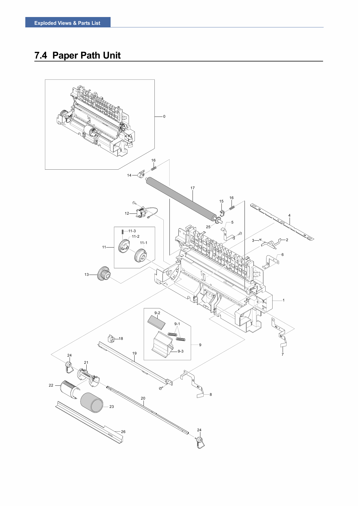 Samsung Laser-Printer ML-2571N Parts Manual-2